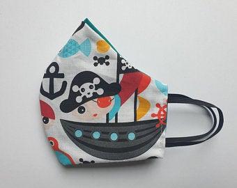 behelfsmaske piraten kinder