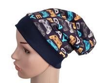 Mütze Beanie - Zocker - Kinder Jungen, blau